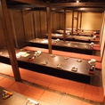 60名以上個室 【最大260名様】まで ※系列店との併設店舗です。