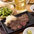 料理メニュー写真酒場の牛ステーキ