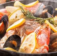 新鮮な魚を使用した料理はフレンチーナのオススメ♪