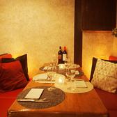 ●・~大人気・ソファー個室~・●ソファー個室でゆったりとおくつろぎできます☆落ち着いた空間で美味しいお肉料理なんていかがでしょうか?