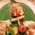 料理メニュー写真比内地鶏の炙り盛り合わせ(130g)