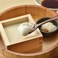 料理メニュー写真いろはの出来立て湯豆腐(北海道産豆乳・オホーツクにがり使用)