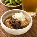 料理メニュー写真牛煮込み豆腐