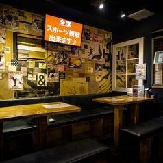 2階席のテーブル席は貸切でも使えますよ★☆高円寺 居酒屋 宴会 貸切 飲み放題