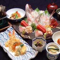 築地で活魚を味わうお昼の特別会席【和食 居酒屋 個室】