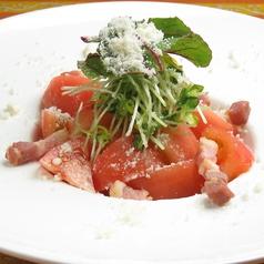まるごとトマトとイタリアンベーコンのマリネ