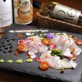 料理メニュー写真島根県漁港直送の特選カルパッチョ