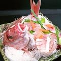 料理メニュー写真真鯛の姿造り