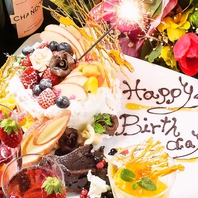 誕生日・歓送迎会・記念日にクーポンでサプライズ