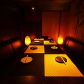 シーン似合わせたデザーナーズ個室空間を多種ご用意いたしております!!【VIPルーム】最大12名様利用可能。