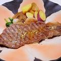 料理メニュー写真ビーフミニッツステーキ