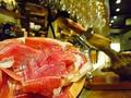 料理メニュー写真スペイン産の生ハム・ハモンセラーノ