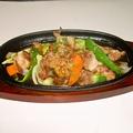 料理メニュー写真地鶏焼き