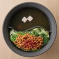 料理メニュー写真二色鍋のおだし