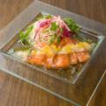 料理メニュー写真鮮魚のカルパッチョ 地中海風