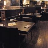 黒を基調としたシックでおしゃれな店内で、ゆっくりと美味しい料理をご堪能下さい。