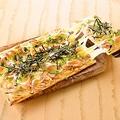 料理メニュー写真釜揚げ桜えびと海苔の和風Pizza