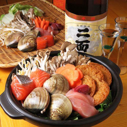 美酒鍋コース4000円