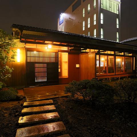 勝田駅よりほど近い大人の隠れ家。古民家を改装し、装いも新たに移転OPEN!