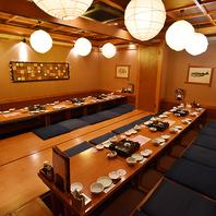 最大宴会28名様★ゆったり宴会部屋ございます。