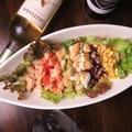 料理メニュー写真白ハコサラダ