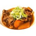 料理メニュー写真牛すじの赤味噌煮込み