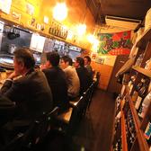 常連様に大人気のこのお席!一人でサクッと飲むも良し!仕事帰りに仲間と飲むも良し!新鮮な魚をさばく職人の姿も見ることができる特等席です!