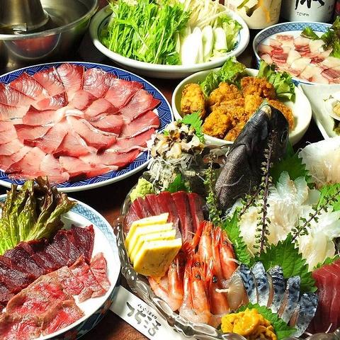 東十条で途中下車して行く価値あり!毎日築地から仕入れた新鮮な魚介類を豪快に調理!