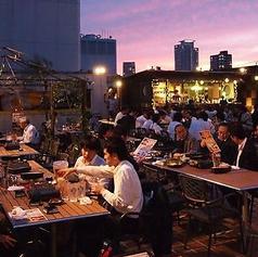 昭和青空ビアガーデンの雰囲気1