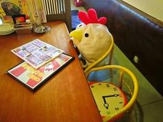 お子様の椅子やお子様用食器もございますのでお子様連れでも気兼ねなく楽しめますよ!