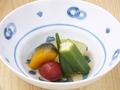 料理メニュー写真旬野菜の冷やし煮物
