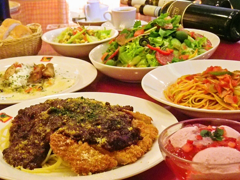 落ち着いた雰囲気で楽しめる本格イタリアン。手頃な価格と自慢の味で愛されるお店。