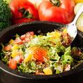 料理メニュー写真イシヤキベジメシ