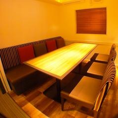 【2Fフロア】コンパや女子会に◎テーブル席