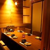 ゆったりした空間で居心地が良いテーブル席個室