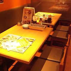 サク飲み・サク飯におすすめのテーブル席!