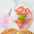 料理メニュー写真苺とパパイヤのチェー