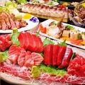 料理メニュー写真「マジで贅沢。だけど一度でいいから味わいたい…。」要予約の【本マグロ×牛タン】コース6000円!!