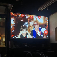 大画面で祝うバースデーイベント!