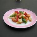 料理メニュー写真エビのピリ辛炒め/エビのチリソース/エビのさっぱり炒め(塩/醤油)