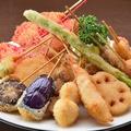 料理メニュー写真【新世界名物 串カツ】 肉類