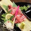 料理メニュー写真◆炙り肉刺し◆