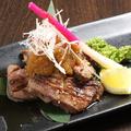 料理メニュー写真◆特選厚切り牛タンステーキ