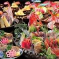 新潟の旬食材を地酒と共にご堪能いただけるコースを幅広くご用意。日~木曜日限定コース2時間飲み放題付全6品4,500円~。