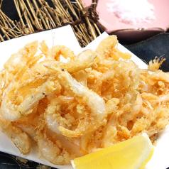 料理メニュー写真富山産白海老の揚物/特製海老マヨ