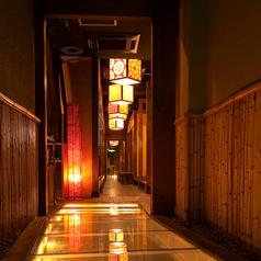 2~4名様 【隠れ家個室・和を基調とした落ち着いた雰囲気が魅力の個室居酒屋】