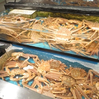 蟹の老舗で味わう絶品かに