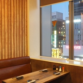 .広島駅から見下ろす夜景を見ながらお食事をお楽しみください◎