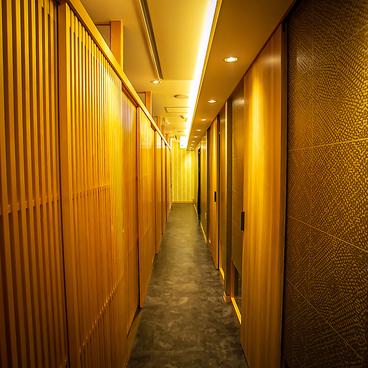 全席個室 鮮や一夜 京都駅前店の雰囲気1