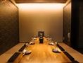 最大18名様までOKの特別個室!詰めた場合だと20~22名様までは可能です。他のお客様から離れた場所にあるためゆっくりとした時間を過ごせます!